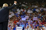 Donald Trump Holds Campaign Rally In Wilmington, NC