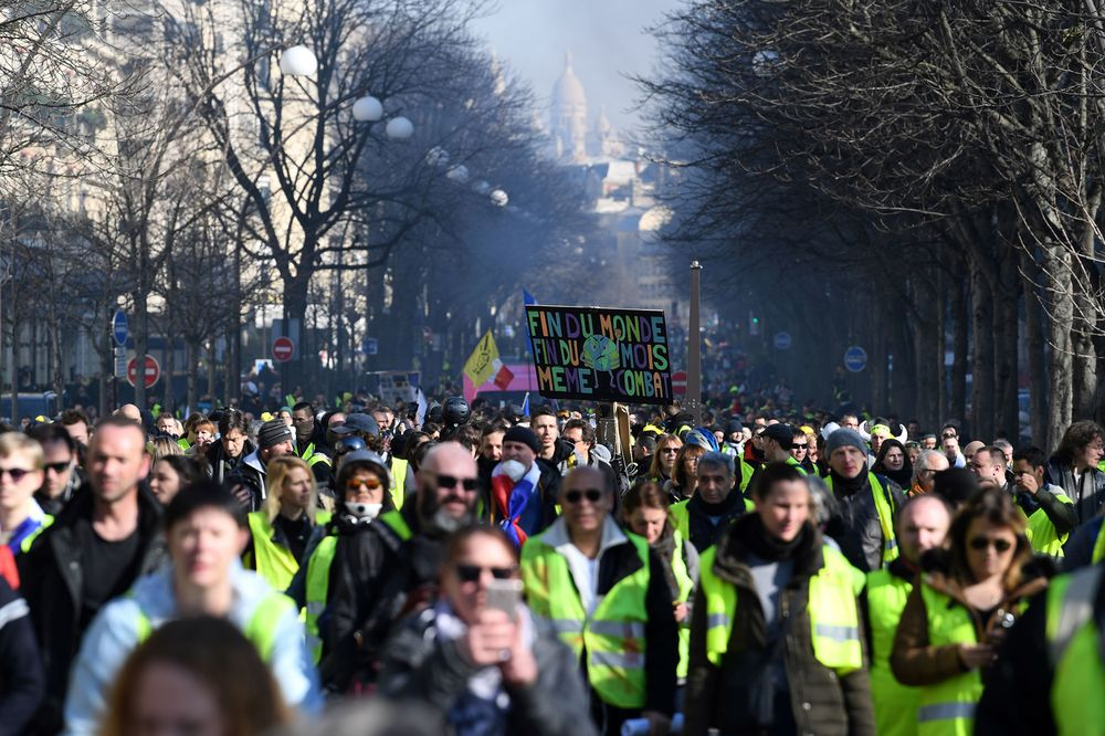 France's Le Maire Says Yellow Vests Protests Undermine Economy