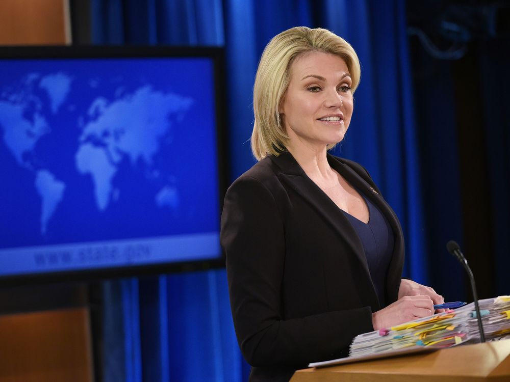 Trump Said to Want State Department Spokeswoman for UN Job - Bloomberg
