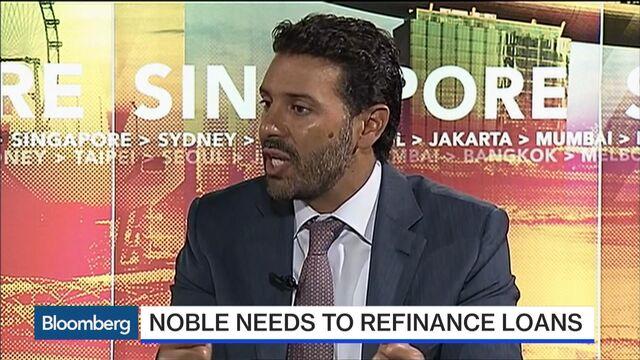Noble Group's Alireza Says Markets Tough as Debt Deal Sought