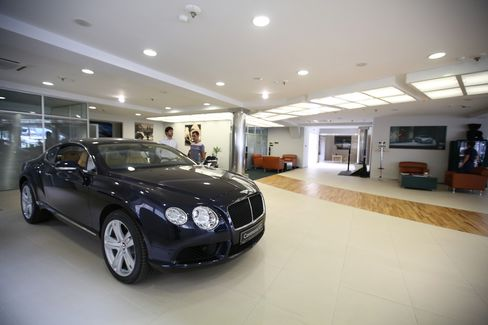 There are about 250 Bentleys on Kazakh roads. Photographer: Andrey Rudakov/Bloomberg
