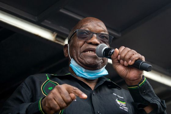 South African Police Plan to Arrest Ex-President Zuma