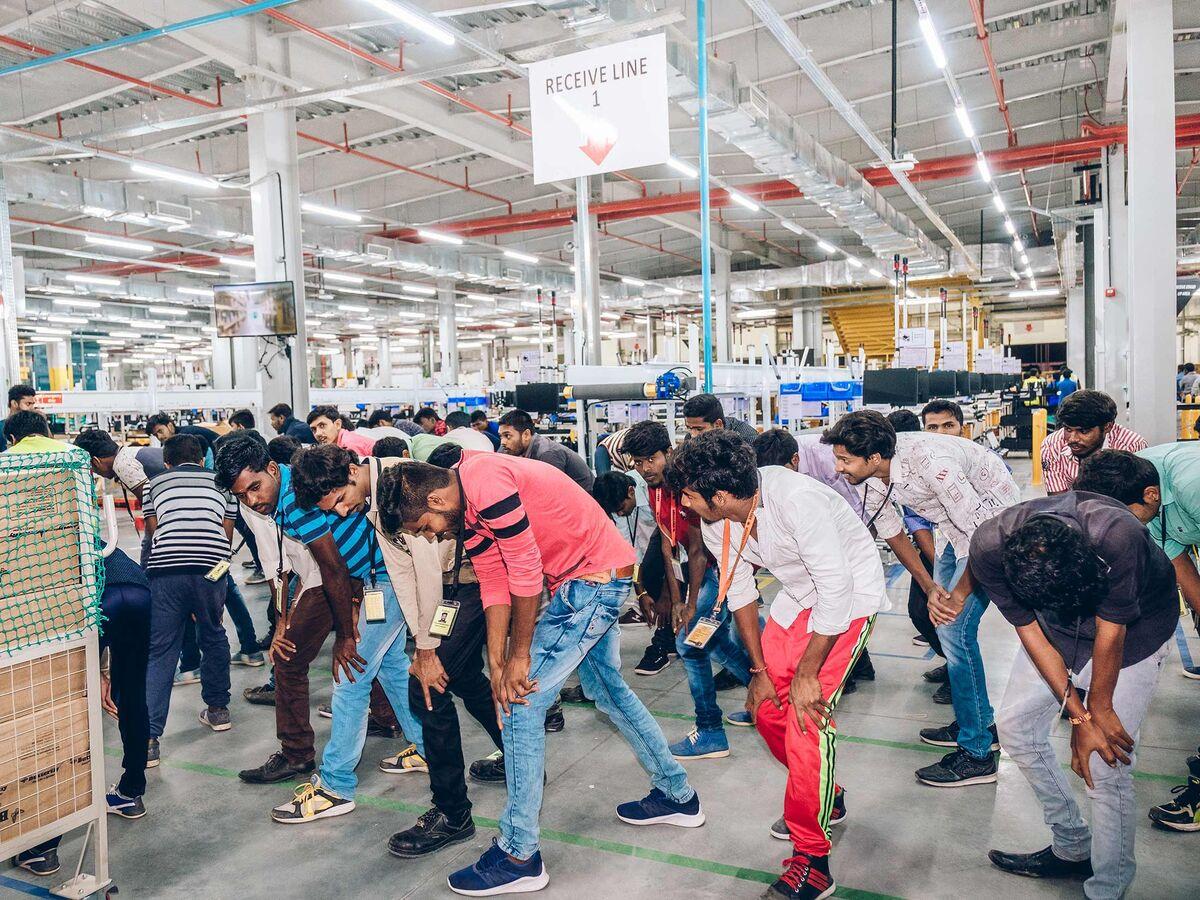 Amazon Battles Walmart in Indian E-Commerce Market It Created