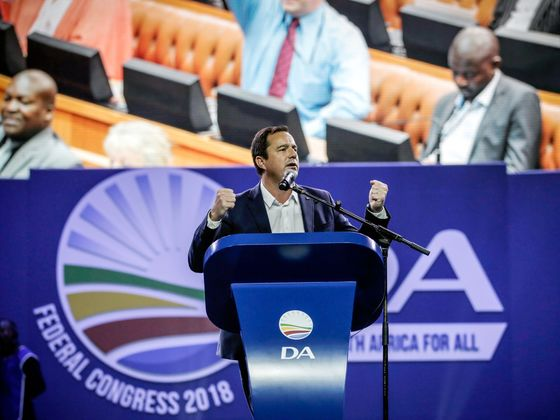 Winning Votes for White South African Leader Is an Uphill Battle