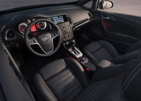 Manual transmission fans need not apply; Buick's Cascada comes only with a sleepy automatic transmission.