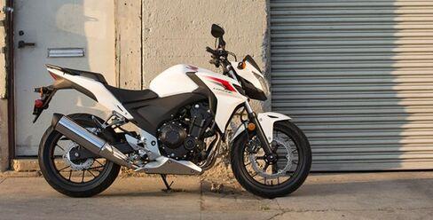 """Honda's 2014 CB500F """"naked"""" street bike"""