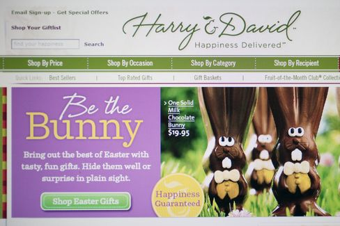 Harry & David Files for Bankruptcy