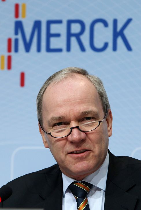 Merck Chief Executive Officer Karl-Ludwig Kley