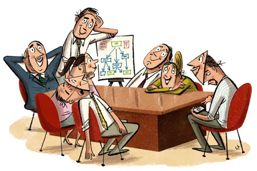Image result for boring meetings