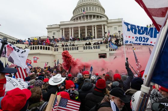 Trump Supporter Rage Simmered on Social Media Before D.C.Violence