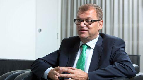 Juha Sipilae in Helsinki, Finland.