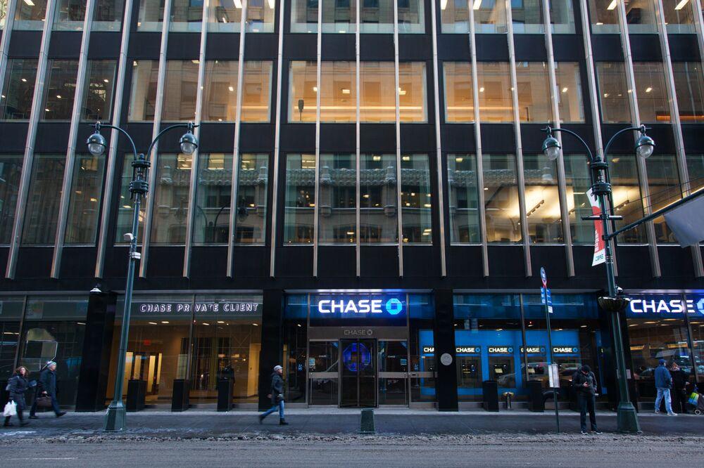 JPMorgan Chase & Co. succursale bancaria a New York.