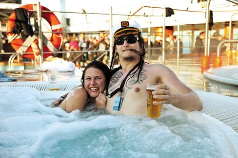 Heavy Metal Rocks in Europe's Cruise Market