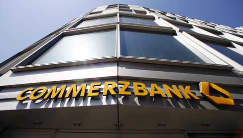 Commerzbank Slumps on Sovereign Debt Concern
