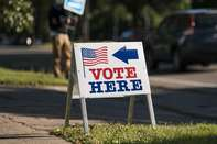 Voters Cast Ballots In Minnesota Primary