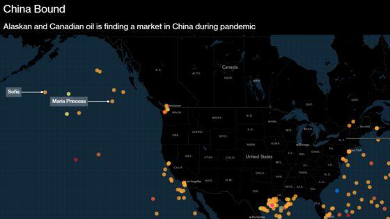 Chinese Revival Draws Shipments of Alaskan, Canadian Oil