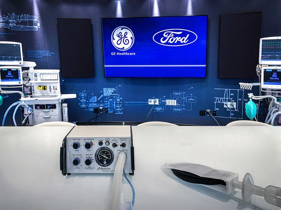 Ford Ends Ventilator Production After Making 50,000 for U.S.