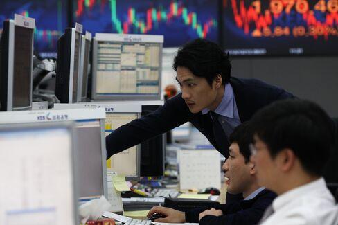 South Korean Stocks Rise Most in Asia as Hyundai, Exporters Gain