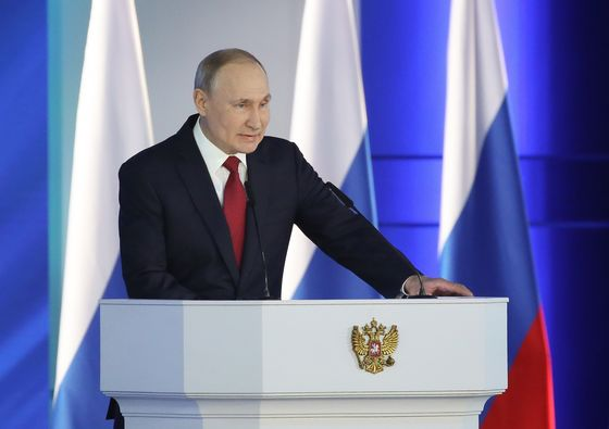Putin Isn't as Immune to the Oil Crash as He's Letting On