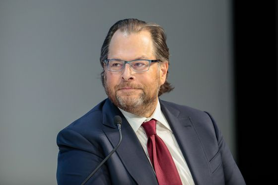 Salesforce's Benioff Says SAP's Troubles Are 'Unique to Them'