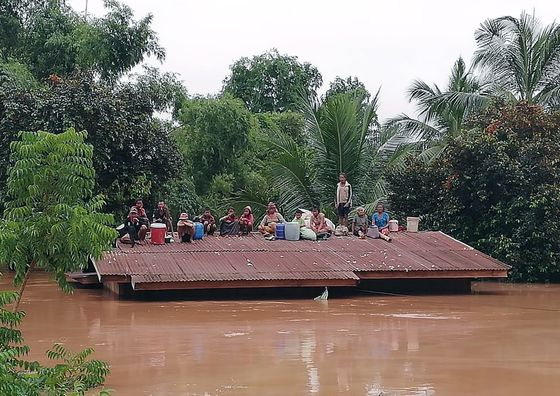 Hundreds Missing, Some Dead as Laos Hydropower Dam Collapses