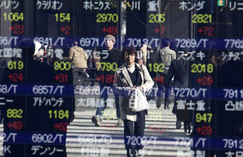 Asian Stocks Head for Eight-Month High on U.S. Budget Optimism