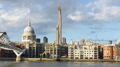 Timber skyscraper London