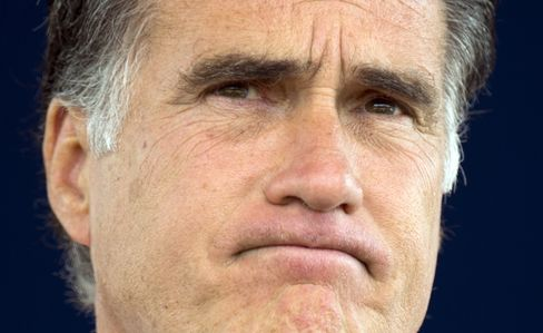 Presumptive Republican Presidential Nominee Mitt Romney
