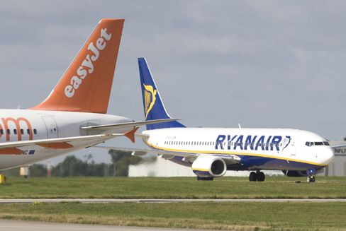 Ryanair First-Quarter Profit Falls 29% on Fuel Costs, Fares