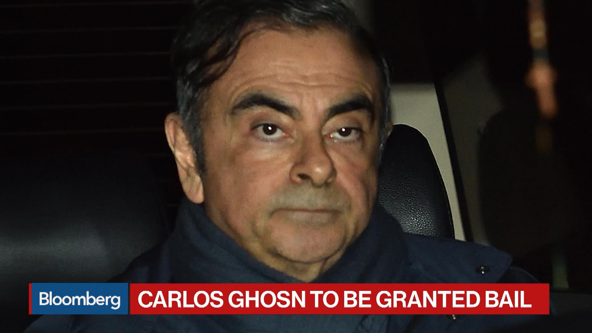 Carlos Ghosn to Be Granted Bail