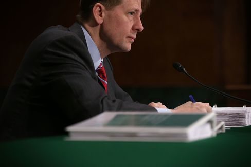 Director Of The Consumer Financial Protection Bureau Richard Cordray Testifies To Senate Hearing