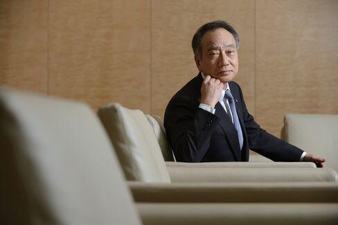 Sumitomo Mitsui Trust Holdings Chairman Hitoshi Tsunekage