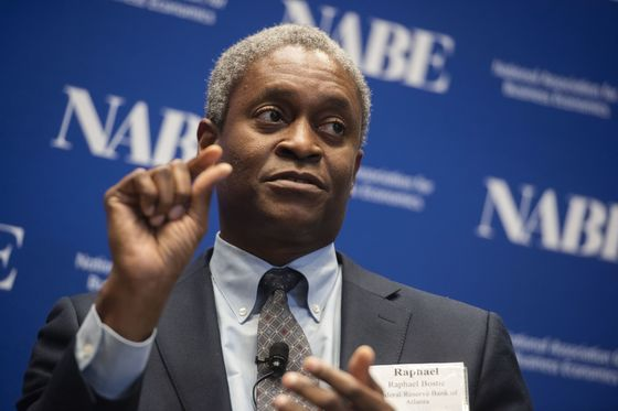 Bostic Says Fed 'Very Close' to Conditions to Taper Bond Buying