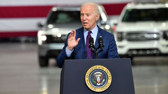 Biden Sets U.S. Goal for Clean Cars to Be Half of 2030 Sales