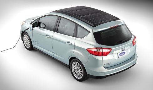 Ford C-MAX Solar Energi Concept Vehicle