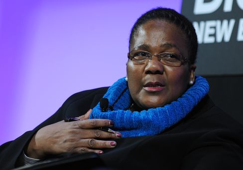South African Transport Minister Dipuo Peters