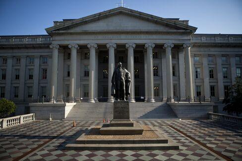 Negative Rates on Treasury Bills Show Little Debt-Limit Concern
