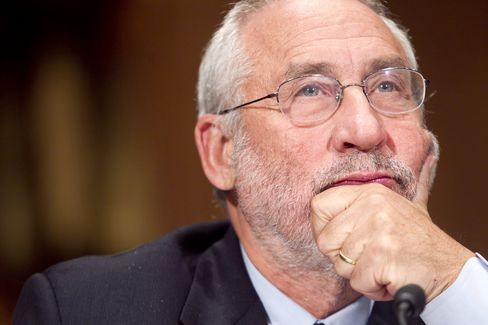 Stiglitz Says Europe's Austerity Push Is Recipe for 'Suicide'