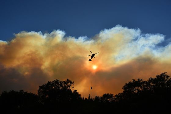 Raging Fire Gives North California Worst Air Quality in U.S.