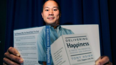 Hsieh, founder and chief executive of Zappos.