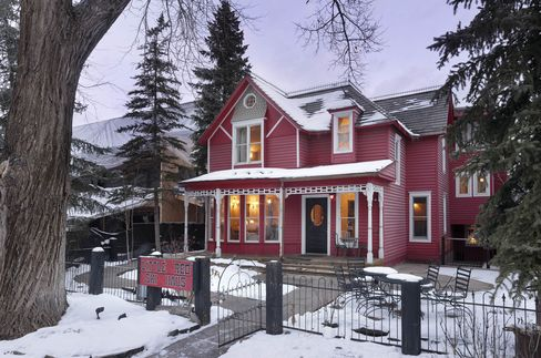 The Little Red Ski Haus.