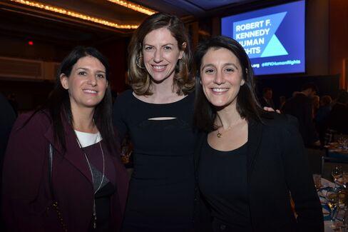 Tami Rosen of Apple, Anne Black of Goldman Sachs and Dana Rosenberg of KIND Healthy Snacks