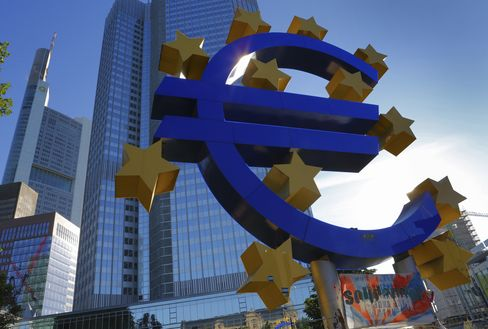 ECB May Set Yield Limits on Euro Sovereign Bonds, Spiegel Says