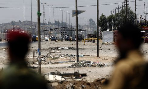 Checkpoint Held by ISIL in Mosul