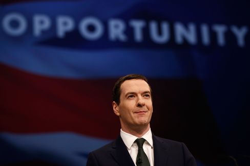 U.K. Chancellor of the Exchequer George Osborne.