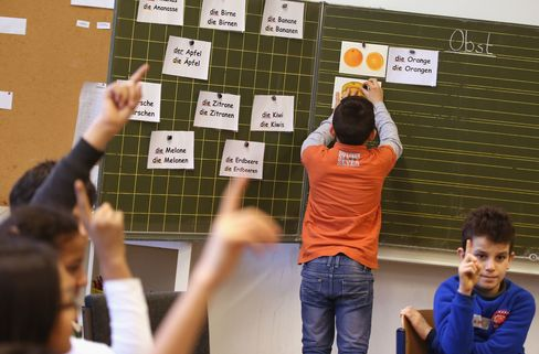 Germany Expands Language Classes For Migrant Children