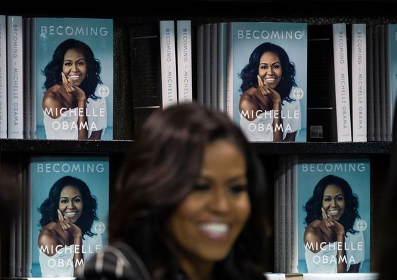 Michelle Obama's Memoir Pays Off for a German Media Giant