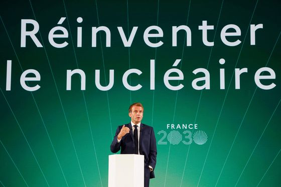 France to Build Small Nuclear Reactors by 2030 in Export Push