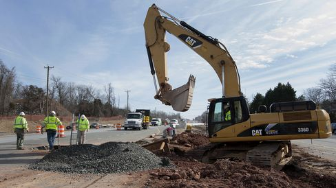 Road Construction As U.S. Highway Trust Fund Is Running Out Of Money