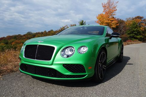 This is the updated V8 GT Bentley introduced in 2011.